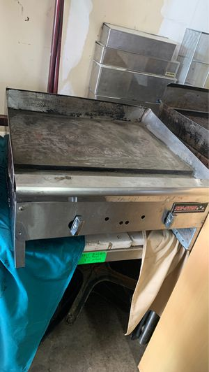 Commercial (gas) flat grill for Sale in Richardson, TX