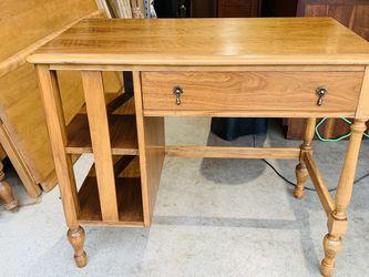 BEAUTIFUL MID CENTURY MODERN WALNUT SCANDINAVIAN OFFICE DESK for Sale in Mukilteo,  WA