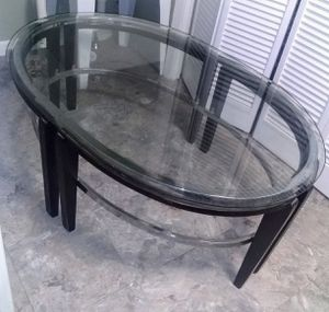Glass Coffee Table for Sale in Fort Fairfield, ME