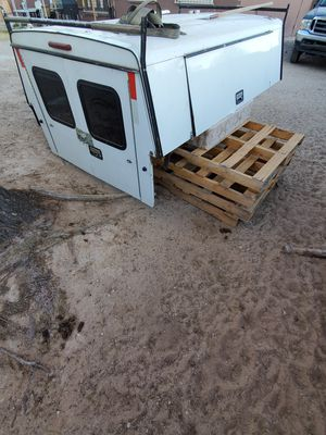 Selling tool box camper for 8ft long bed truck make an offer for Sale in Las Vegas, NV