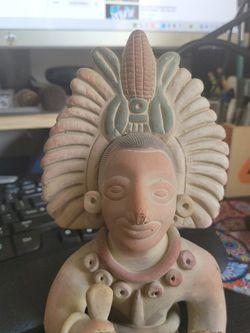 Aztec Figure Figurine Statue Of Corn Farmer for Sale in El Monte,  CA