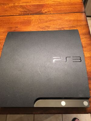 PS3 60gig. machine only. for Sale in Hutto, TX