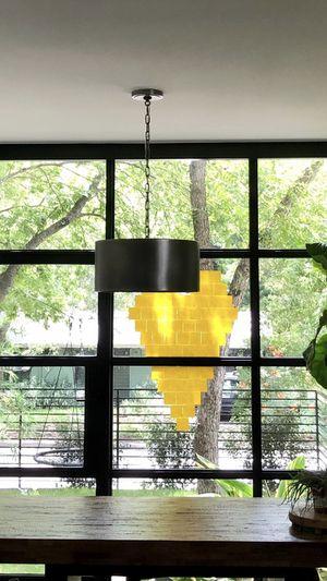 Metal drum pendant light $40 for Sale in Austin, TX