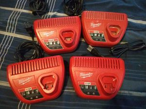 Milwaukee 12m charger for Sale in Waukegan, IL
