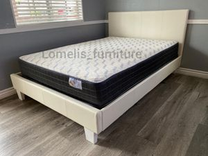 Cal king beds with mattresses included for Sale in Beaumont, CA