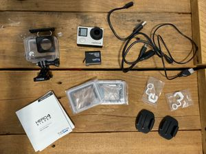 GoPro Hero 4 Silver with accessories and mounting pieces for Sale in Hollywood, FL