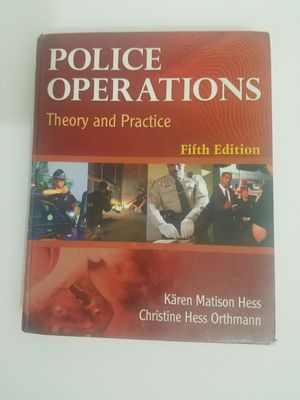 Police Operations : Theory and Practice by Christine H. Orthmann for Sale in Mountain View, CA