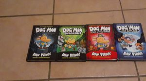 All 4 Dog man books on sell 30$ for Sale in Mesa, AZ
