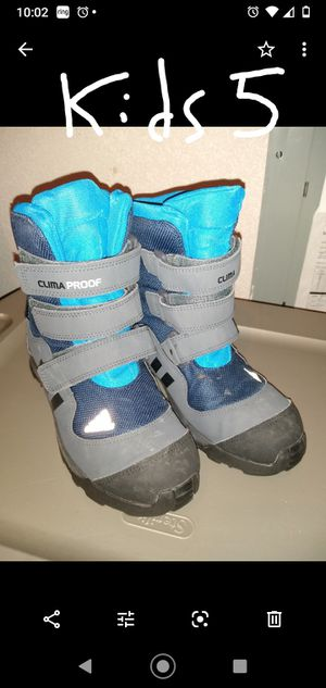 Adidas Climaproof Kids Snow Boot for Sale in Vancouver, WA