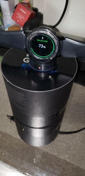 Almost New Samsung Gear S3 Frontier Watch (1yr warranty left)($200) for Sale in Colorado Springs, CO