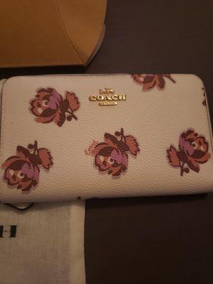 Coach zip wallet for Sale in Phelan, CA