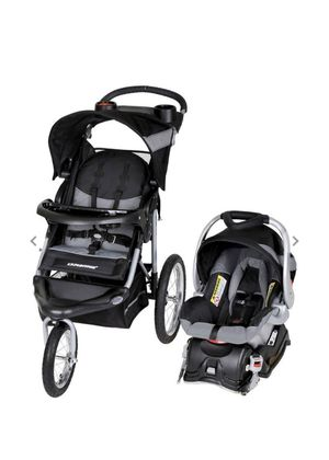 Baby Trend Expedition Jogger Travel System, Millennium White for Sale in Shawnee, KS