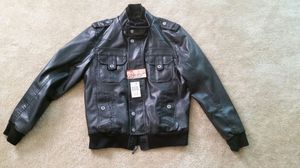 Guess leather jacket with tags. Men's M. for Sale in Baltimore, MD