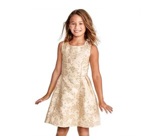 GOLD DRESS FOR GIRLS for Sale in North Miami, FL