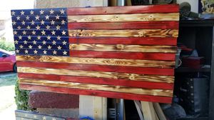 Handcrafted American Flag for Sale in GLMN HOT SPGS, CA