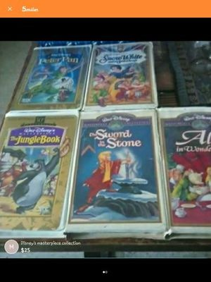 Walt Disney VHS movies for Sale in Holdenville, OK