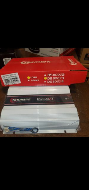 TARAMPS 800X3 PERFECT FOR DOOR SPEAKER OR HORN DRIVER OR SUBWOOFER AND MORE for Sale in The Bronx, NY