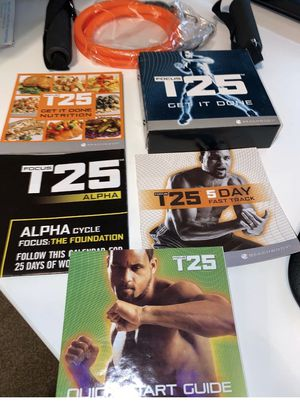 T25 FULL SET W resistance band for Sale in New York, NY