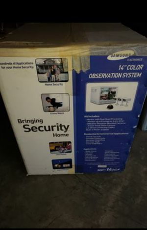 SAMSUNG Security Monitoring System for Sale in West Covina, CA