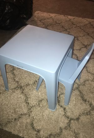 Kids table and chair for Sale in Nashville, TN