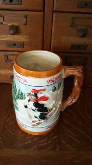 1986 limited edition Hamms bear stein for Sale for sale  Lacey, WA