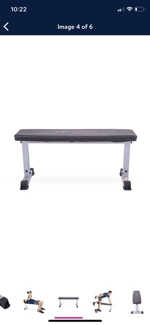 Cap flat bench brand new for Sale in Hayward, CA