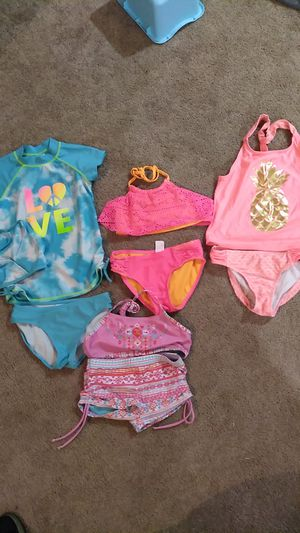 Girls size 7/8 bathing suits for Sale in Norwood, PA