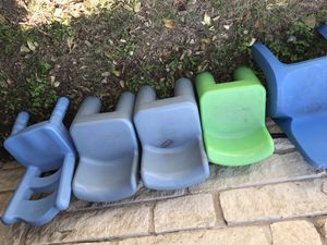 In need of 5 outdoor kids chairs for Sale in Austin, TX