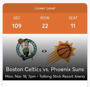 2 Lower Level Suns Tickets for Sale in Phoenix, AZ
