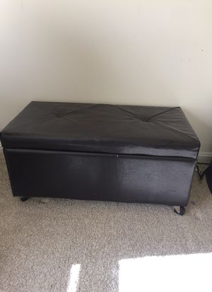 Ottoman storage bench for Sale in Ashburn, VA