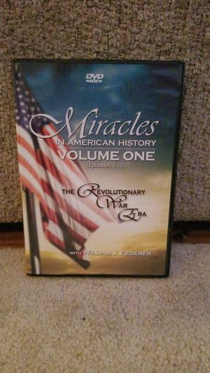 Miracles in American History Vol. 1 DVD for Sale in St. Petersburg, FL