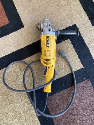 Dewalt D28474 W Angle Grinder for Sale in Kennewick, WA