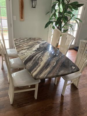 Marble dining table for Sale in Washington, DC