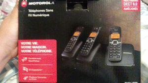 Telefonos motorolas fijos neuvos en caja for Sale in Irving, TX