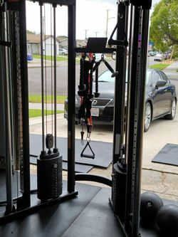 Multi Functional Trainer FTX Cable Machine BRAND NEW IN BOX for Sale in Orange,  CA