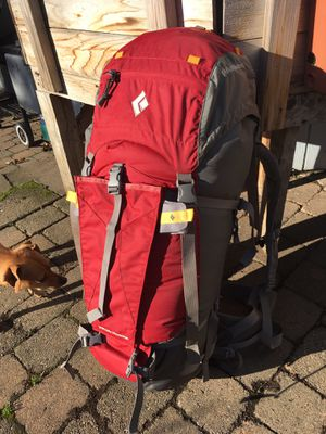 Black Diamond Predator 55 L/XL climbing backpack for Sale in Happy Valley, OR