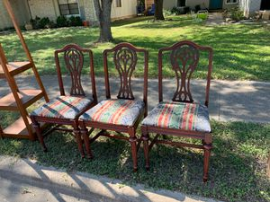 Wooden chairs for Sale in Austin, TX