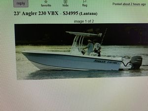 23' Angler VBX 230 for Sale in FL, US