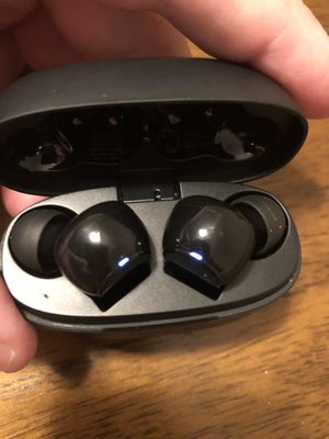 Sound Core black wireless earbuds for Sale in Tampa, FL