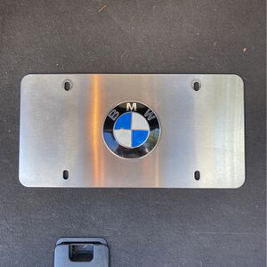 Authentic BMW chrome Logo plate for Sale in Charlotte, NC