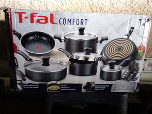 T-Fal 14pc. Cook Wear Pots & Pan Set New (Firm on Price) for Sale in Gardena, CA