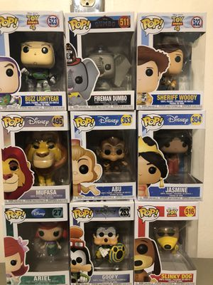 Funko Disney Little Mermaid Toy Story Lion King Aladdin Dumbo Action Figure Collectible for Sale in Long Beach, CA