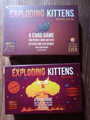 Exploding kittens card games for Sale in Portland, OR