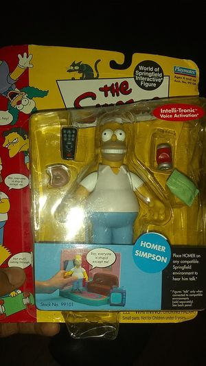 Homer Simpson Action Figure for Sale in Jersey City, NJ