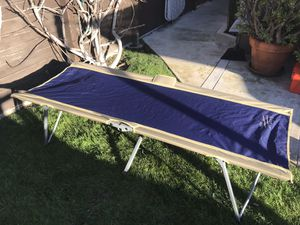 Camping cot, Easy cot, blue. for Sale in Playa del Rey, CA