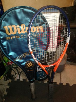 Wilson tennis rackets (sps series titanium) for Sale in Pinecrest, FL