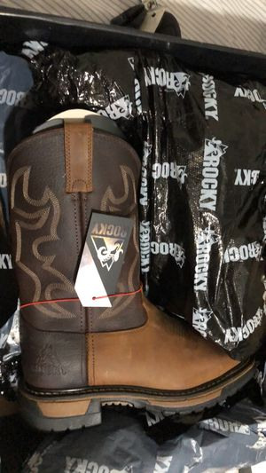 Rocky Western Boots- Men's 8 for Sale in Brentwood, NC