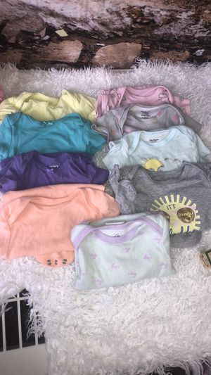 Carters & other brand onesies lot for Sale in Tampa, FL
