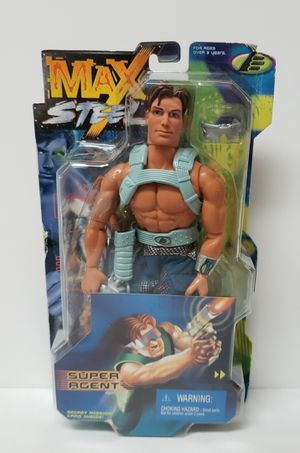 Max Steel Super Agent Action Figure (1999) by MATTEL ~New in box for Sale in Valrico, FL