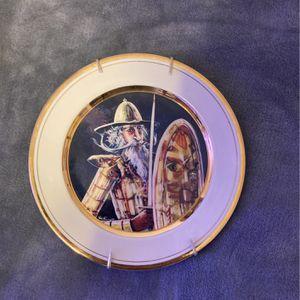 Don Quixote Plate Signed By Artist for Sale in Staunton, VA